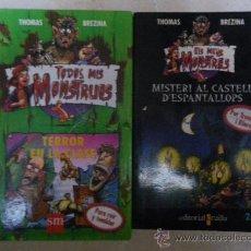 Libros de segunda mano: TODOS MIS MONSTRUOS 2 /ELS MEUS MONSTRES 6. THOMAS BREZINA. (CAST Y CAT) (A PARTIR DE 9 AÑOS). Lote 35378015
