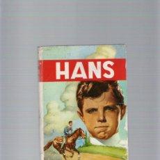 Libros de segunda mano: HANS - M. DE ZUMBELTZ - EDICIONES PAULINAS - III EDICION AÑO 1964. Lote 35578975