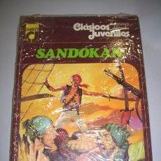 Libros de segunda mano: SALGARI, EMILIO. SANDOKÁN. Lote 36251090