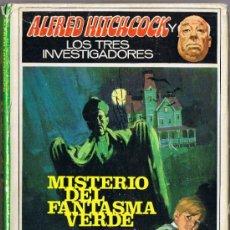Libros de segunda mano: MISTERIO DEL FANTASMA VERDE - LOS TRES INVESTIGADORES - ALFRED HITCHCOCK - 1968 - MOLINO. Lote 36250949