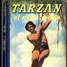 Libros de segunda mano: E. RICE BORROUGHS : TARZÁN EL GRAN JEQUE (G. GILI, 1953). Lote 36370492