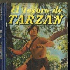 Libros de segunda mano: E. RICE BORROUGHS : EL TESORO DE TARZÁN (G. GILI, 1949). Lote 36370526