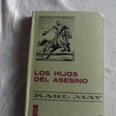Libros de segunda mano: COLECCION HISTORIAS SELECCION - LOS HIJOS DEL ASESINO POR KARL MAY. Lote 36455489