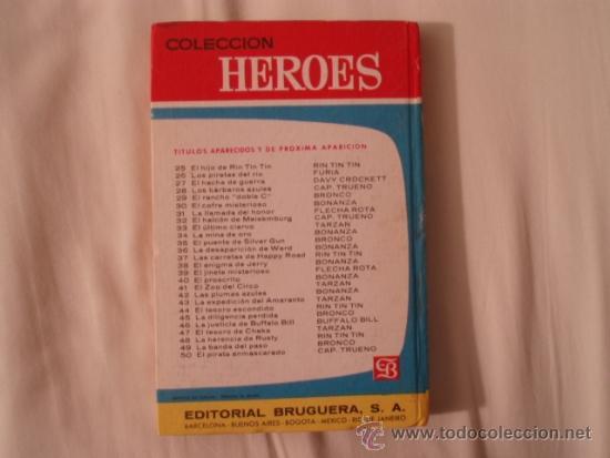 Libros de segunda mano: BRONCO. LA DILIGENCIA PERDIDA. Nº 45. BRUGUERA. 2ª EDICIÓN ABRIL 1966. COLECCIÓN HEROES - Foto 4 - 36492650