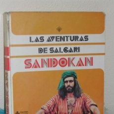 Libros de segunda mano: LIBRO - LAS AVENTURAS DE SALGARI - SANDOKAN - AÑO 1.976. Lote 36598345