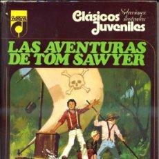 Libros de segunda mano: MARK TWAIN : LAS AVENTURAS DE TOM SAWYER (CLÁSICOS JUVENILES TOPELA, 1976). Lote 36745150