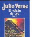 Libros de segunda mano: EL VOLCAN DE ORO VOL. I. JULIO VERNE. EDITORIAL ORBIS - 1988 - Nº 86.. Lote 160473064
