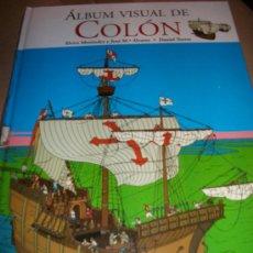 Libros de segunda mano: ALBUM VISUAL DE COLON - BRUÑO - MUSEO NAVAL MADRID - PRECINTADO - . Lote 37978025