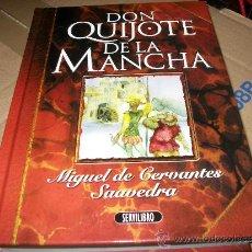 Libros de segunda mano: DON QUIJOTE DE LA MANCHA - MIGUEL DE CERVANTES SAAVEDRA - TAPA DURA - ILUSTRACIONES A COLOR - JUVENI. Lote 37978050