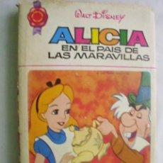 Libros de segunda mano: ALICIA EN EL PAÍS DE LAS MARAVILLAS. CARROLL LEWIS (ADAPTADO) 1973. Lote 38869365