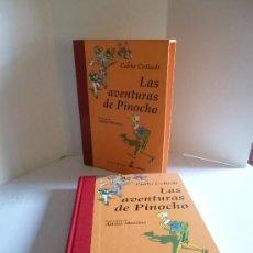 Libros de segunda mano: LAS AVENTURAS DE PINOCHO (CARLO COLLODI). IL. ATTILIO MUSSINO. LIBROS DEL TESORO EDHASA, 2000. . Lote 56886463