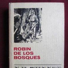 Libros de segunda mano: ROBIN DE LOS BOSQUES. N. R. STINNET. BRUGUERA. HISTORIAS SELECCIÓN,1967. ROBIN HOOD. Lote 38968300