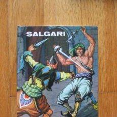 Libros de segunda mano: EL LEON DE DAMASCO, SALGARI, EDICIONES GAHE, 1 EDICION. Lote 39209385