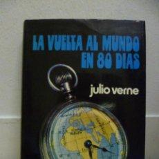 Libros de segunda mano: JULIO VERNE. LA VUELTA AL MUNDO EN OCHENTA DÍAS - 1969 - 254 PAG.. Lote 39348380
