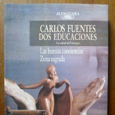 Libros de segunda mano: CARLOS FUENTES DOS EDUCACIONES - ALFAGUARA. Lote 39594995
