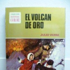 Libros de segunda mano: 1974 - JULIO VERNE - EL VOLCAN DE ORO - BRUGUERA. Lote 39719014