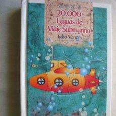 Libros de segunda mano: 20000 LEGUAS DE VIAJE SUBMARINO. VERNE, JULIO. 2001. Lote 40064591