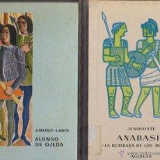 Libros de segunda mano: ANABASIS Y OTROS 3. Lote 40478647