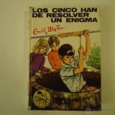 Libros de segunda mano: LOS CINCO HAN DE RESOLVER UN ENIGMA. Lote 40695692