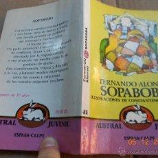 Libros de segunda mano: LLIBRO INFANTIL: SOPABOBA FERNANDO ALONSO ILUSTRACIONES DE CONSTANTINO GATAGAN MJ.E. Lote 40874377