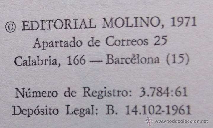 Libros de segunda mano: MISTERIO DEL GATO COMEDIANTE - ENID BLYTON - EDITORIAL MOLINO 1971 - Foto 3 - 40960369