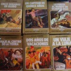 VERNE - CINCO SEMANAS EN GLOBO - HISTORIAS SELECCION BRUGUERA - de libreria sin usar