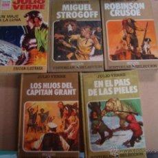 Libros de segunda mano: VERNE - EN EL PAIS DE LAS PIELES - HISTORIAS SELECCION BRUGUERA - PRECINTADO !!!! - Nº 17. Lote 41028665
