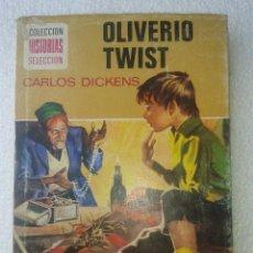Libros de segunda mano: OLIVERIO TWIST CARLOS DICKENS HISTORIAS SELECCION Nº15 COLECCION BRUGUERA. Lote 41223749