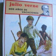 Libros de segunda mano: DOS AÑOS DE VACACIONES - JULIO VERNE . EDIT. MOLINO . Lote 41359634