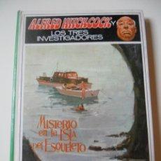 Libros de segunda mano: ALFRED HITCHCOCK Y LOS TRES INVESTIGADORES 6 MISTERIO EN LA ISLA DEL ESQUELETO. Lote 41491995