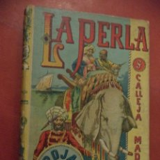 Libros de segunda mano: LA PERLA ROJA. NOVELA DE AVENTURAS POR EMILIO SALGARI. EDITORIAL SATURNINO CALLEJA FERNANDEZ. MADRID. Lote 41581006