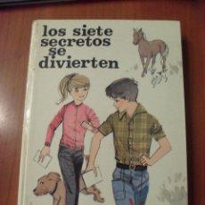Libros de segunda mano: LOS SIETE SECRETOS SE DIVIERTEN, ENID BLYTON JUVENTUD. Lote 41868082