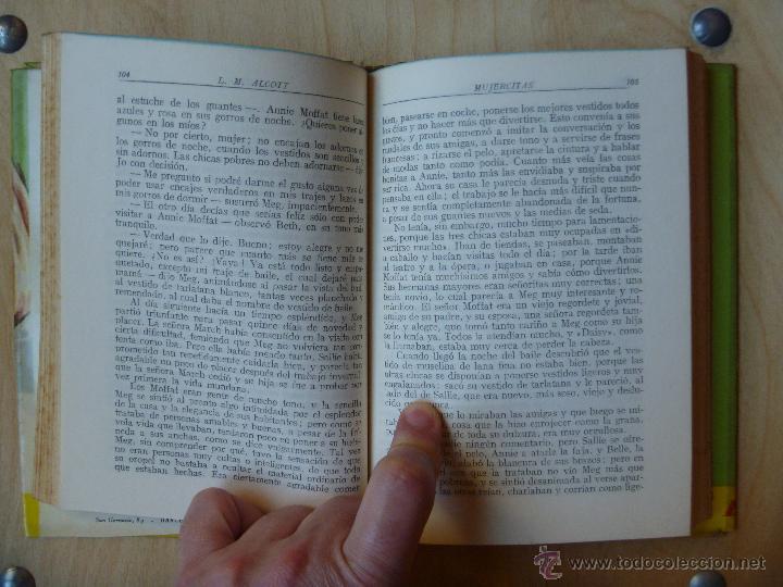 Libros de segunda mano: Mujercitas de Louisa Alcott edición de 1960 - Foto 3 - 42172027