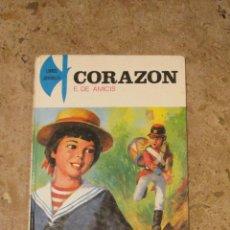 Libros de segunda mano: CORAZON - EDMUNDO DE AMICIS (1981). Lote 42356321