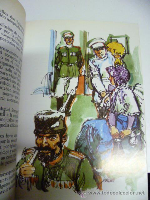 Libros de segunda mano: JULIO VERNE - MIGUEL STROGOFF - (ilustraciones - ver fotos) - Foto 3 - 42467433