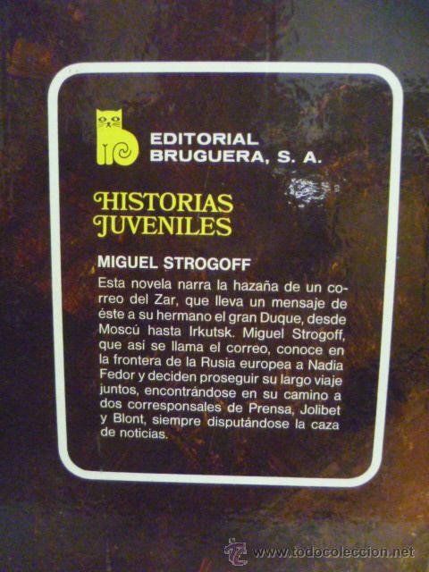 Libros de segunda mano: JULIO VERNE - MIGUEL STROGOFF - (ilustraciones - ver fotos) - Foto 4 - 42467433