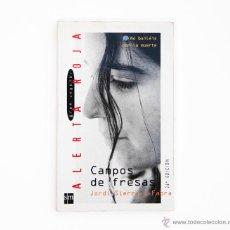 Libros de segunda mano: CAMPOS DE FRESAS LIBRO JORDI SIERRA I FABRA 26 EDICION SM BUEN ESTADO. Lote 106065098