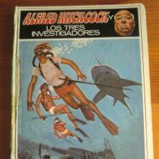 Libros de segunda mano: LIBRO ALFRED HITCHCOCK Y LOS TRES INVESTIGADORES: MISTERIO DEL ARRECIFE DEL TIBURÓN (1981) MOLINO. Lote 42991244