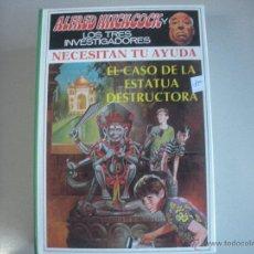 Libros de segunda mano: ALFRED HITC HCOCK - EL- CASO - DE - LA - ESTATUA - DESTRUCTORA - Nº 3. Lote 182308152