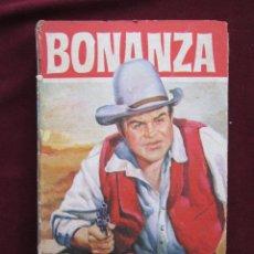 Libros de segunda mano: BONANZA. EL PROSCRITO. COLECCIÓN HEROES, 40. BRUGUERA, 1ª ED. 1964. Lote 43412521