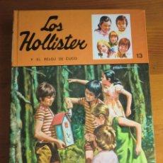 Libri di seconda mano: LIBRO LOS HOLLISTER Y EL RELOJ DE CUCO Nº 13 (1984) DE JERRY WEST. EDICIONES TORAY. COMO NUEVO. Lote 43627372