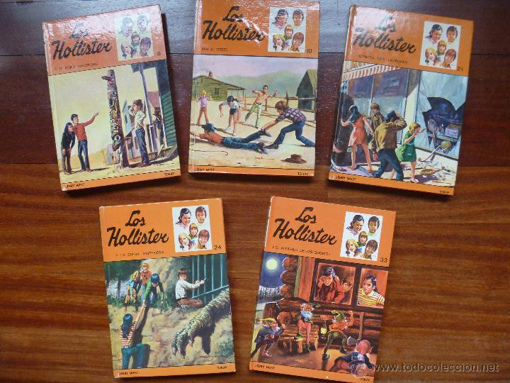 LOS HOLLISTER Nº 5, Nº10, Nº 21, Nº 24 Y Nº 33 (Libros de Segunda Mano - Literatura Infantil y Juvenil - Novela)