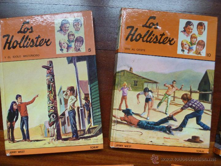 Libros de segunda mano: Los hollister nº 5, nº10, nº 21, nº 24 y nº 33 - Foto 2 - 44003237