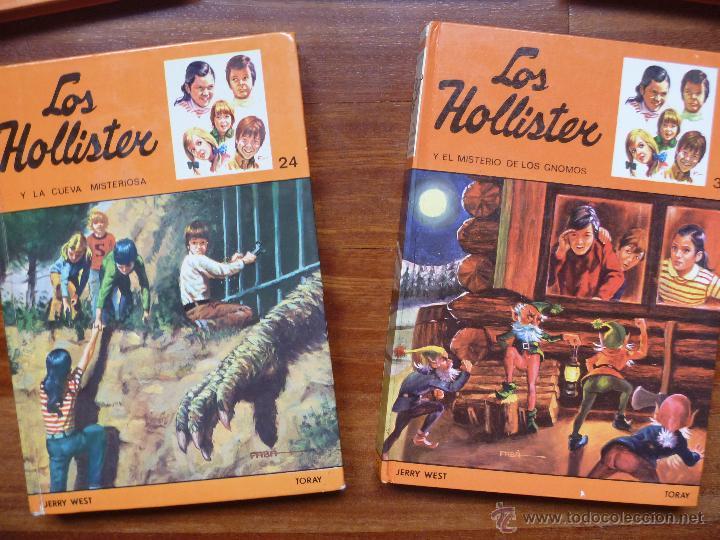 Libros de segunda mano: Los hollister nº 5, nº10, nº 21, nº 24 y nº 33 - Foto 3 - 44003237