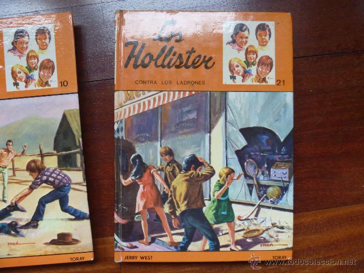 Libros de segunda mano: Los hollister nº 5, nº10, nº 21, nº 24 y nº 33 - Foto 4 - 44003237