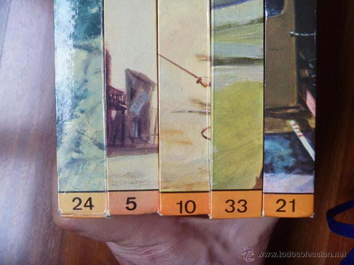 Libros de segunda mano: Los hollister nº 5, nº10, nº 21, nº 24 y nº 33 - Foto 5 - 44003237