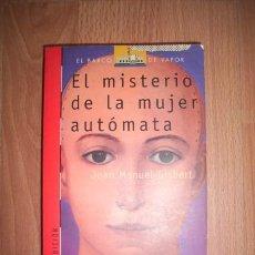 Libros de segunda mano - GISBERT, Joan Manuel. El misterio de la mujer autómata - 44112024