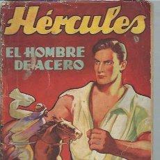 Libros de segunda mano: EL HOMBRE DE ACERO, ADOLOF MARTI CAJA, HOMBRES AUDACES, NUEVOS HÉROES, BARCELONA 1942. Lote 44215505