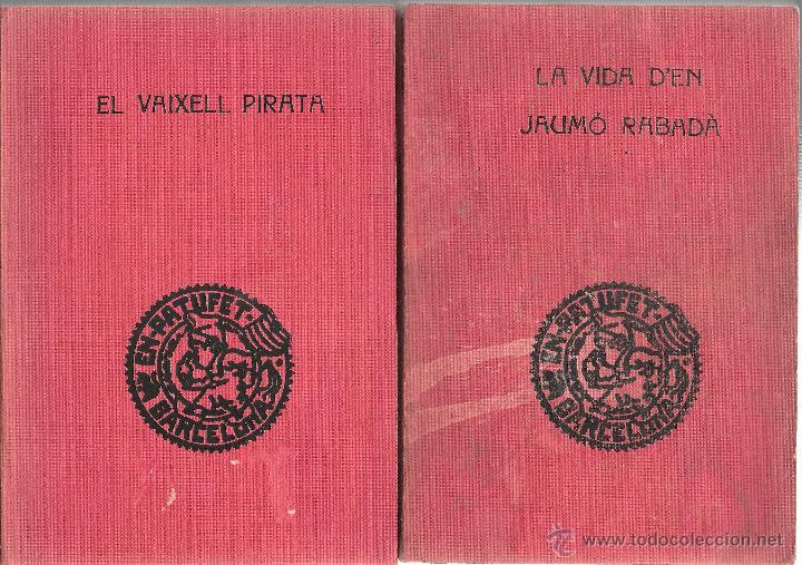 DOS LLIBRES BIBLIOTECA PATUFET ANYS 1931 I 1968 -OCASIÓ- (Libros de Segunda Mano - Literatura Infantil y Juvenil - Novela)