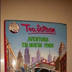Libros de segunda mano: AVENTURA EN NUEVA YORK TEA STILTON EDT DESTINO. Lote 44352748